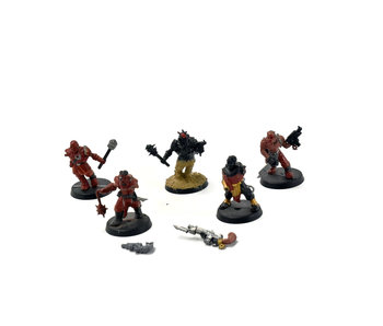 CHAOS SPACE MARINES 5 Cultists #1 Warhammer 40k