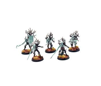 SYLVANETH 5 Tree Revenants #1 PRO PAINTED Warhammer Sigmar