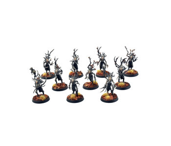 SYLVANETH 10 Dryads #2 PRO PAINTED Warhammer Sigmar