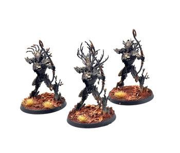 SYLVANETH Kurnoth Hunters #2 PRO PAINTED Warhammer Sigmar