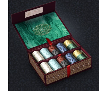 Iron Clays 200 (Printed Box with Poker Chips)