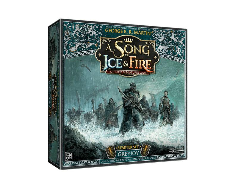 CMON A Song Of Ice & Fire - Greyjoy Starter Set