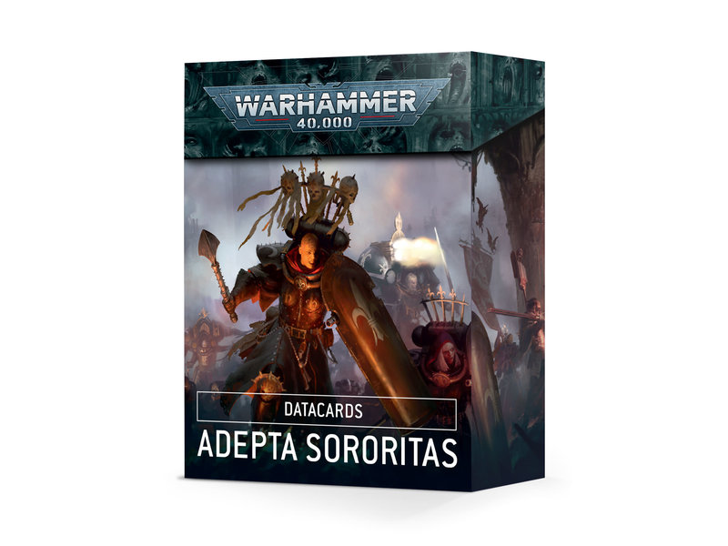 Games Workshop Adepta Sororitas Datacards (French)