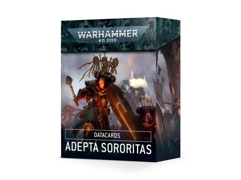 Games Workshop Adepta Sororitas Datacards (English)