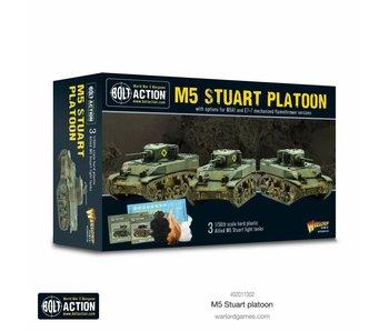 Bolt Action M5 Stuart Platoon