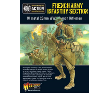 Bolt Action French Infantry Section