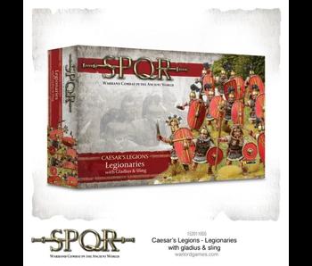 SPQR: Caesar's Legions - Legionaries with gladius & sli...