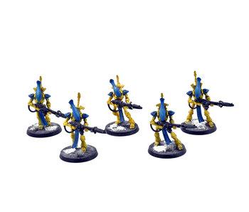 CRAFTWORLDS 5 Wraithguard #2 WELL PAINTED Warhammer 40k Iyanden