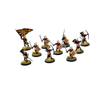 MIDDLE-EARTH 10 Easterling Warriors #1 PRO PAINTED LOTR