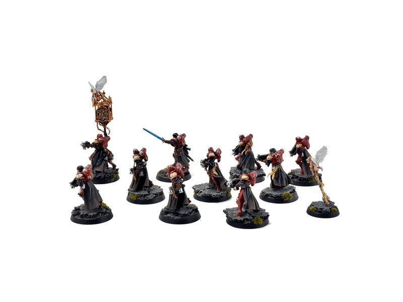 Games Workshop ADEPTA SORORITAS 10 Battle Sisters Squad #4 PRO PAINTED 40k