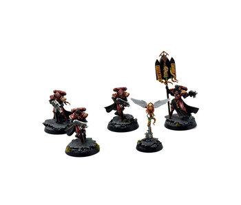 ADEPTA SORORITAS 4 Celestians Squad #1 PRO PAINTED Warhammer 40k