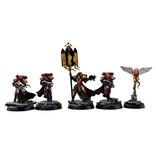 Games Workshop ADEPTA SORORITAS 4 Celestians Squad #1 PRO PAINTED Warhammer 40k