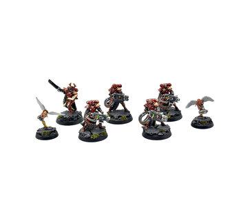 ADEPTA SORORITAS 5 Retributor Squad #1 PRO PAINTED Warhammer 40k