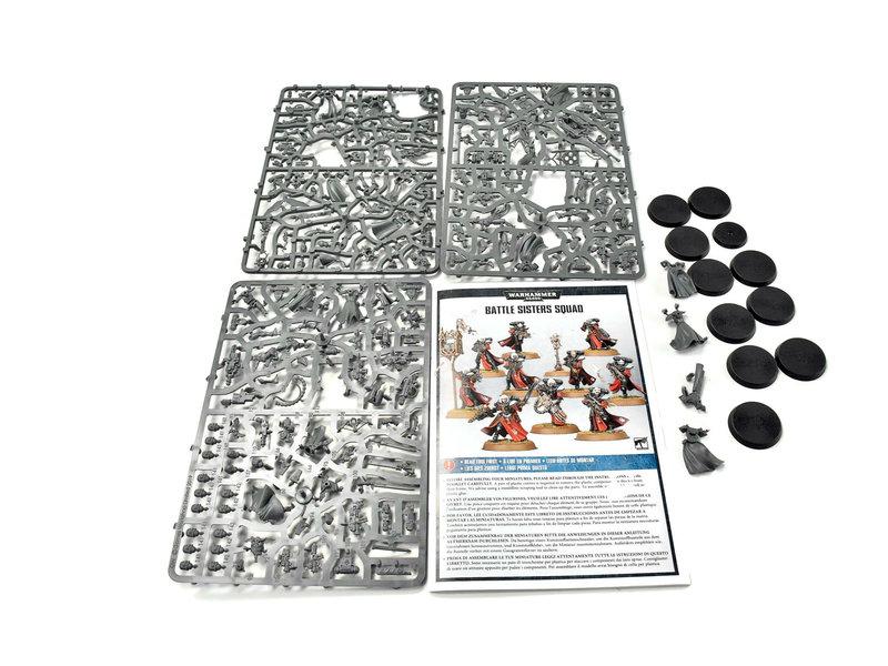 Games Workshop ADEPTA SORORITAS Battle Sisters Squad #3 Warhammer 40k mostly on sprue