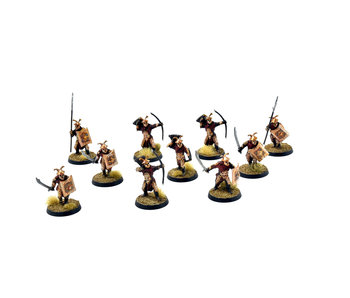 MIDDLE-EARTH 10 Easterling Warriors #2 PRO PAINTED LOTR