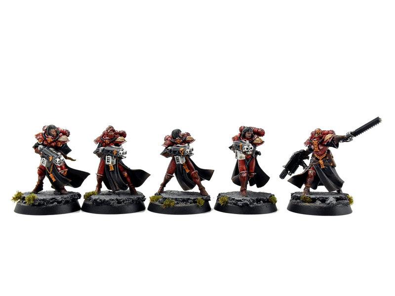 Games Workshop ADEPTA SORORITAS 5 Dominion Squad #1 PRO PAINTED Warhammer 40k