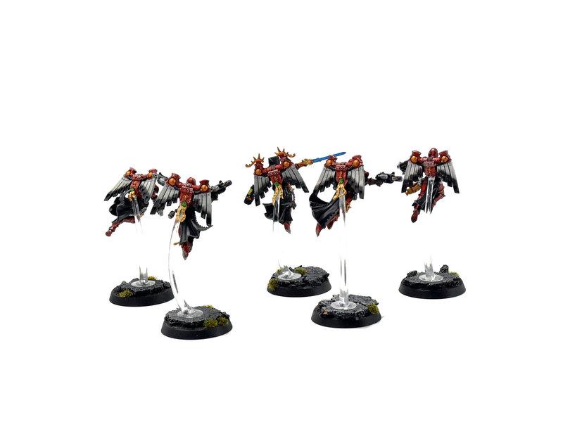 Games Workshop ADEPTA SORORITAS 5 Seraphim Squad #1 PRO PAINTED Warhammer 40k