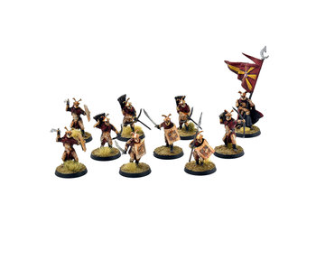 MIDDLE-EARTH 10 Easterling Warriors #3 PRO PAINTED LOTR