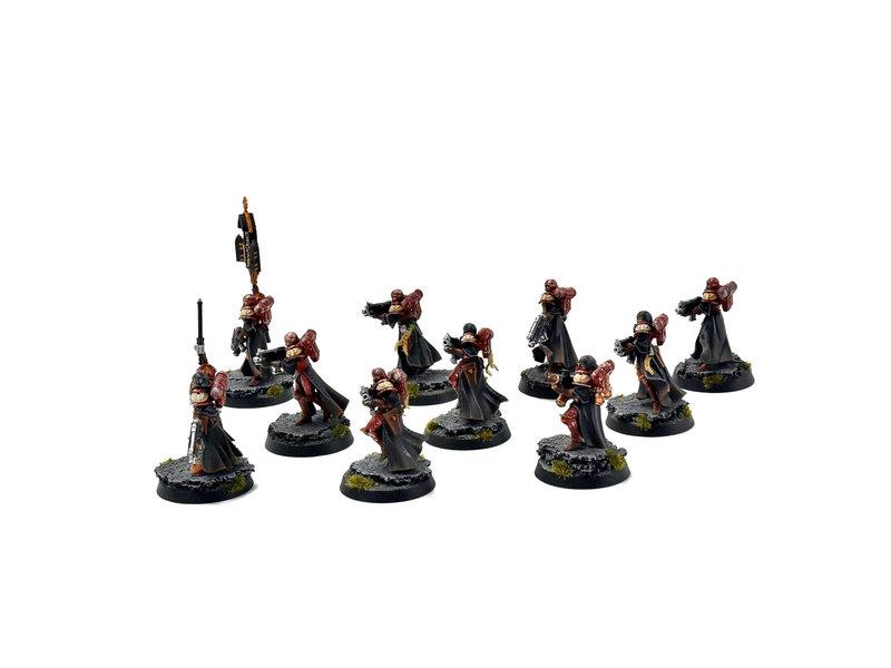 Games Workshop ADEPTA SORORITAS 10 Battle Sisters Squad #1 PRO PAINTED 40k