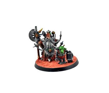 ADEPTUS MECHANICUS White Dwarf Tech-Priest Grombindal #1 WELL PAINTED