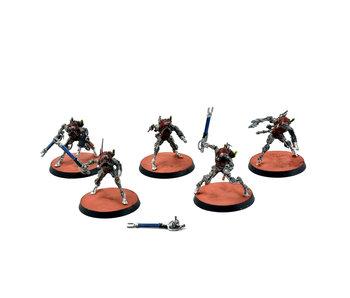 ADEPTUS MECHANICUS 5 Sicarian Infiltrators #1 WELL PAINTED Warhammer 40k
