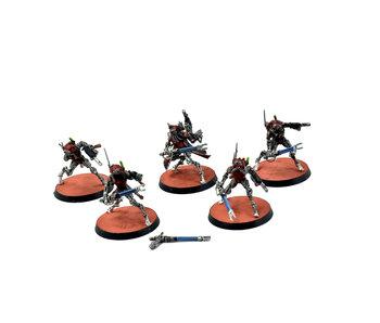 ADEPTUS MECHANICUS 5 Sicarian Infiltrators #2 WELL PAINTED Warhammer 40k