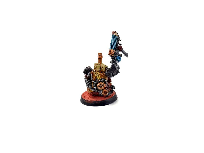 Games Workshop ADEPTUS MECHANICUS Converted Dwarf Tech-Priest #1 METAL WELL PAINTED