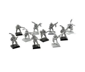 EMPIRE 10 Handgunners #1 Warhammer Fantasy