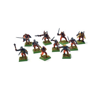 EMPIRE 10 Militia #2 Warhammer Fantasy WELL PAINTED