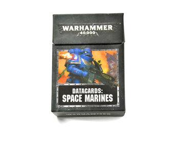 SPACE MARINES Datacards Warhammer 40k