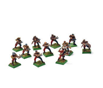 EMPIRE 11 Arbalesters #1 Warhammer Fantasy WELL PAINTED