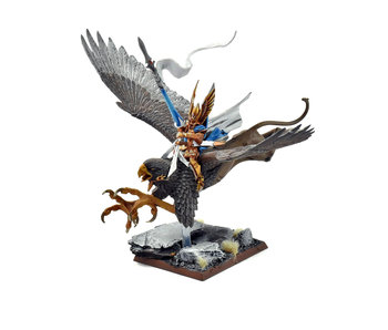 HIGH ELVES High Elf Lord on Griffon #1 WELL PAINTED Fantasy Island of Blood