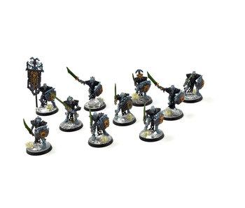 OSSIARCH BONEREAPERS 10 Mortek Guards #2 WELL PAINTED Sigmar