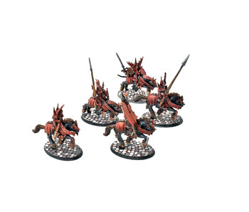 SOULBLIGHT GRAVELORDS 5 Blood Knights #1 OOP PRO PAINTED Sigmar FINECAST