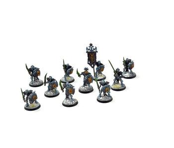 OSSIARCH BONEREAPERS 10 Mortek Guards #4 WELL PAINTED Sigmar