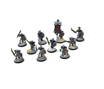 OSSIARCH BONEREAPERS 10 Mortek Guards #1 WELL PAINTED Sigmar
