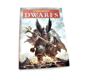 DWARFS Army Book Codex Warhammer Fantasy Good condition