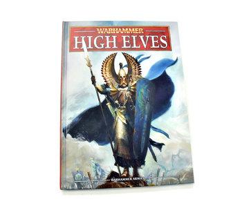 HIGH ELVES Army Book Codex Warhammer Fantasy Good condition