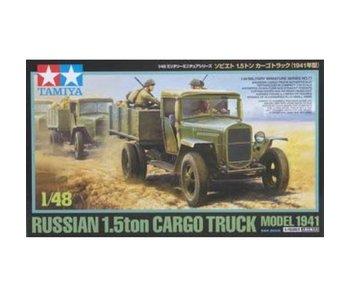 Tamiya 1/48 Russian 1.5T Truck 1941