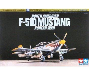 Tamiya 1/72 North American F-51D Mustang Korean War