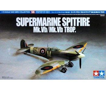 Tamiya 1/72 Supermarine Spitfire Mk.Vb/Mk.Vb Trop