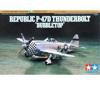Tamiya 1/72 P47-D Thunderbolt Bubbletop