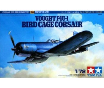 Tamiya 1/72 Vought F4U-1 Bird Cage Corsair