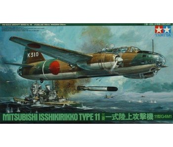 Tamiya Mitsubishi Isshikirikko Type 11 Betty (1/48)