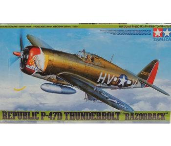 Tamiya Republic P-47D Thunderbolt Razorback (1/48)