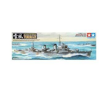 Tamiya Japanese Destroyer Yukikaze (1/350)