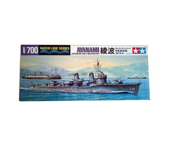 Tamiya Ayanami Destroyer (1/700)