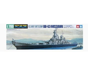 Tamiya Us Navy Battleship Bb-63 Missouri (1/700)