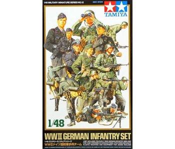 Tamiya 1/48 Wwii German Infantry Set