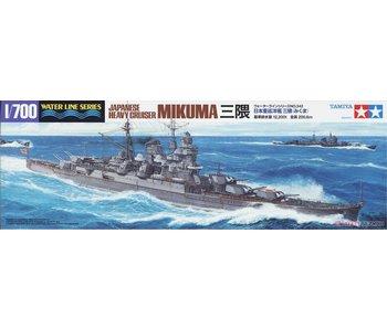 Tamiya Mikuma Japanese Cruiser (1/700)